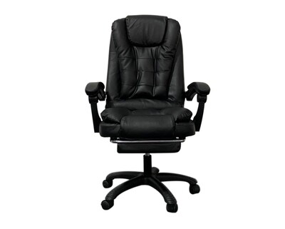 OFX G10/ G10 Max High Back PU Chair With Foot Rest (Black,Pink)