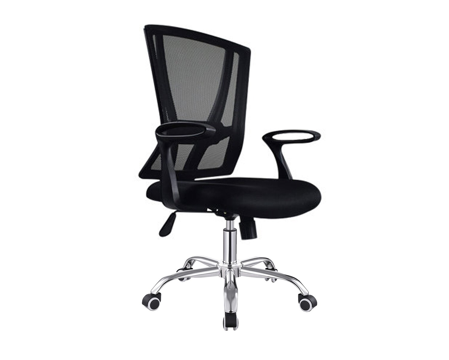 Ofix Deluxe-22 Mid Back Mesh Chair (Black)