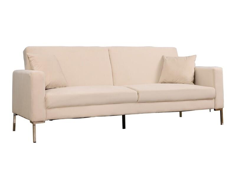 Flotti Fleur Naomi Sofa Bed (Beige, Grey, Navy Blue, Dark Brown)