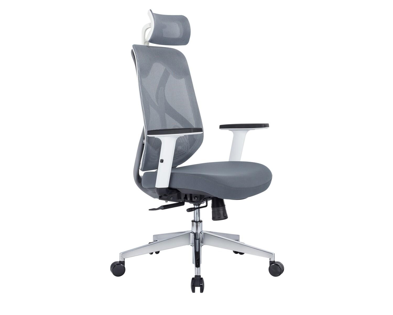 Ofix Korean-F22 Pro High Back Mesh Chair (Grey)