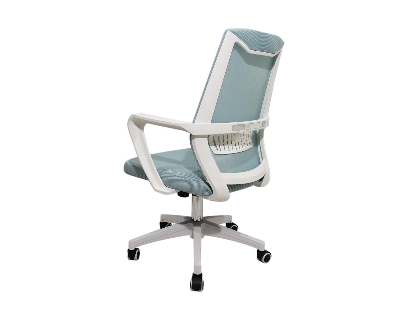 Ofix Korean-F12/ F12H Mid/High Back Mesh Chair (Turquoise, Dark Grey)