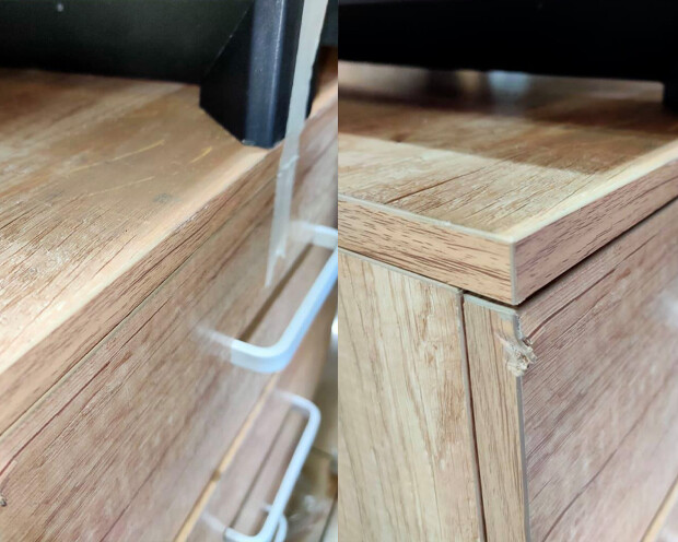 (Sale Item) Ofix 211-OF (140x60) Desk (Wooden) (Repaired/Scratches & Dents)