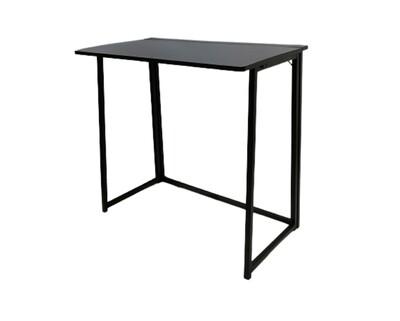 (Sale) Ofix Desk 13-Folding Table Base (80x40) (Black) (Repaint&Light Scratch)