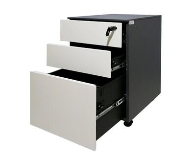 Ofix Steel Mobile Pedestal 3 Drawer