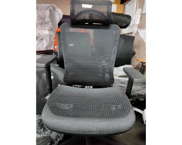 (Sale) Ofix Korean-111 High Back All Mesh Chair (Black) (Headrest not working)