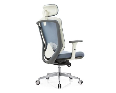 Ofix Deluxe-Z20 High Back Mesh/ All Mesh Chair (Grey)
