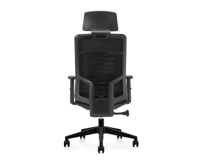 Ofix Premium X15/ X15N/ X15N XTM Bionic Spine Support High Back Chair (All Black, Blue)