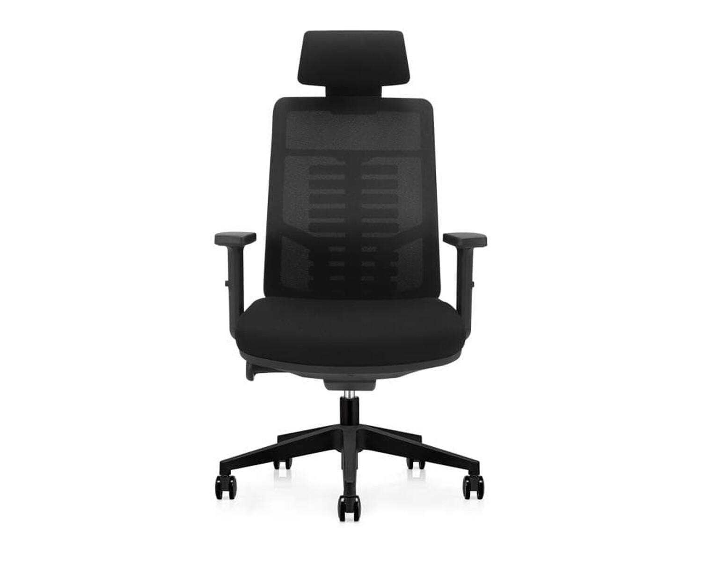 Ofix Premium X15/ X15N/ X15N XTM Bionic Spine Support High Back Chair (All Black, Sky Blue)