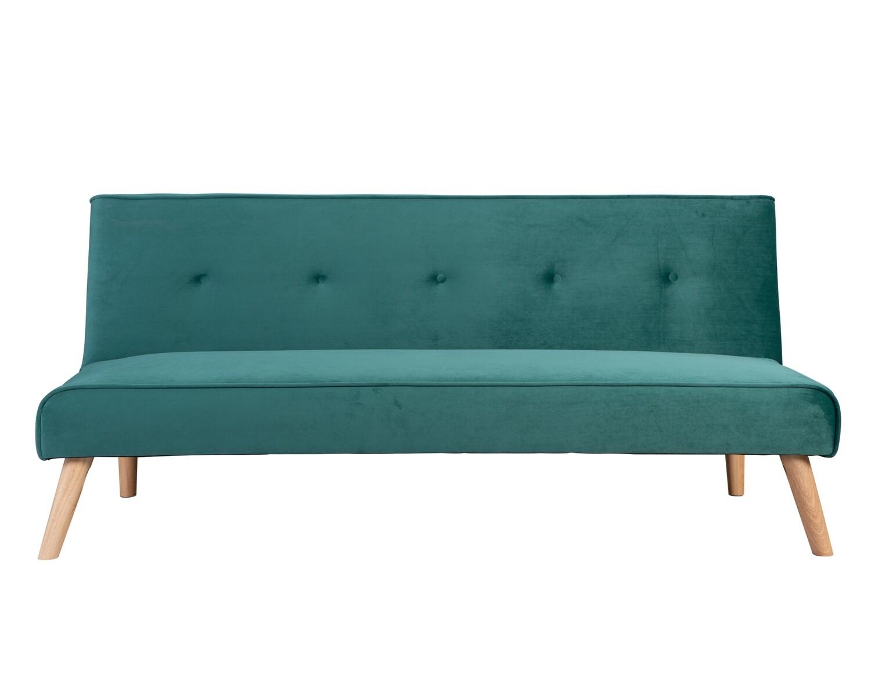 Flotti Andora Sofa Bed (Green, Blue, Red, Grey, Mint, Pink, Purple, Cream, Orange)