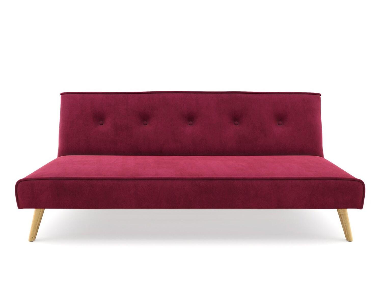 Flotti Andora Sofa Bed (Red, Blue, Green, Grey, Mint, Pink, Purple, Cream, Orange)