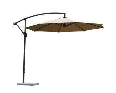 Ofix Raelyn Patio Umbrella (Khaki, Green)