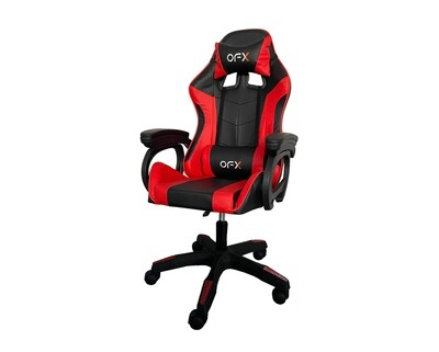 OFX Aaron Gaming Chair (Black, Pink+White, Red+Black)