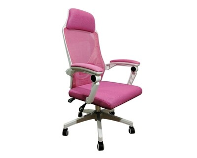 OFX Areli Gaming Chair (White+Pink)