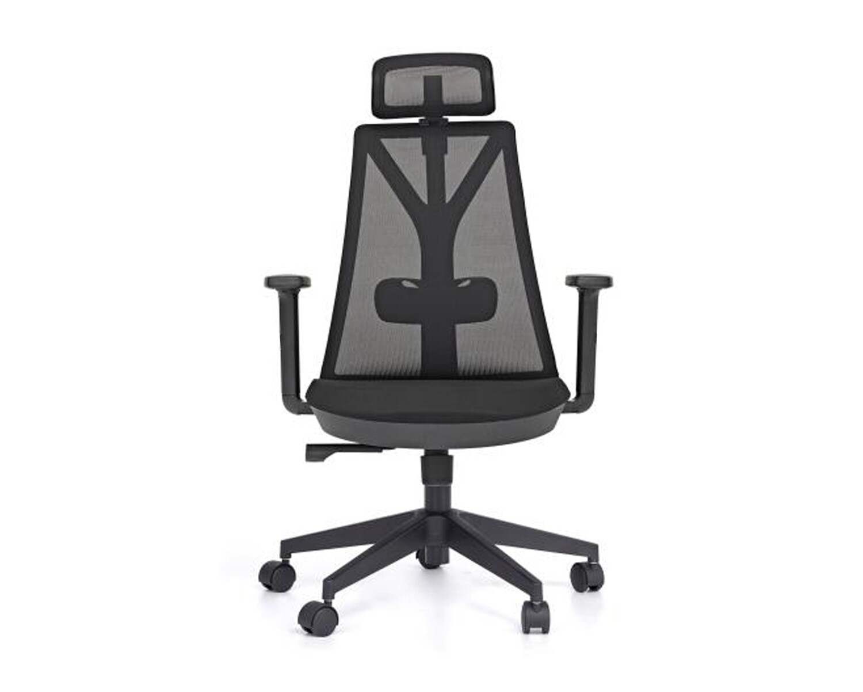 Ofix Korean-108H/ 109H High Back Mesh Chair (All Black, All White, Blue-Grey)