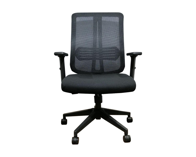 Ofix Korean-103J Mid Back Mesh Chair (Black)