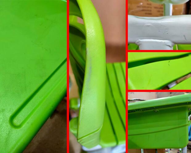 (Sale) Ofix Kiddie Set 005 (Green) (Scratches/Dents/Stains)