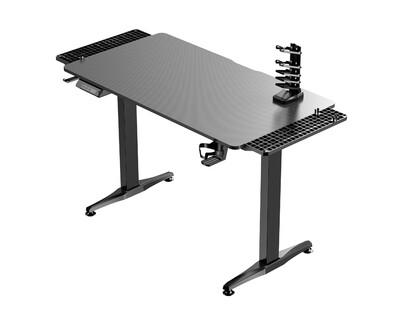 Ofix Jabez Gaming Electric Height Adjustable Single Motor Desk (110*60) (Black)