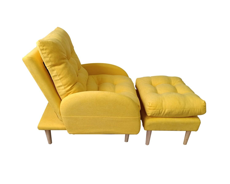 Flotti Rigga Sofa Bed (Yellow, Grey, Dark Grey)
