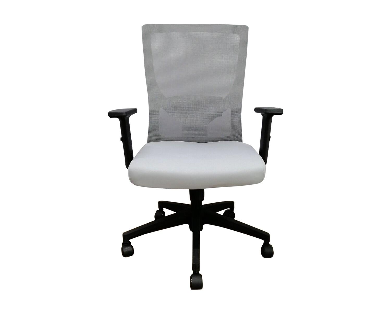 Ofix Korean-100J Mid Back Mesh Chair (Grey)