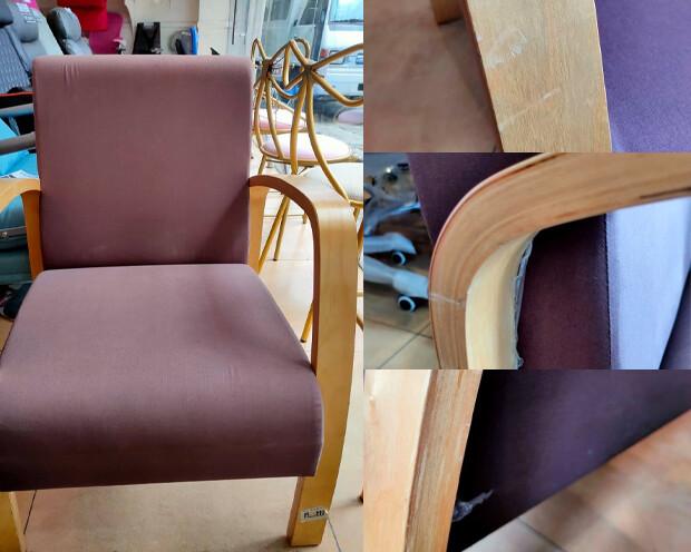 (Sale) Flotti Malacca Sofa Chair (Brown) (Scratches & Dents)