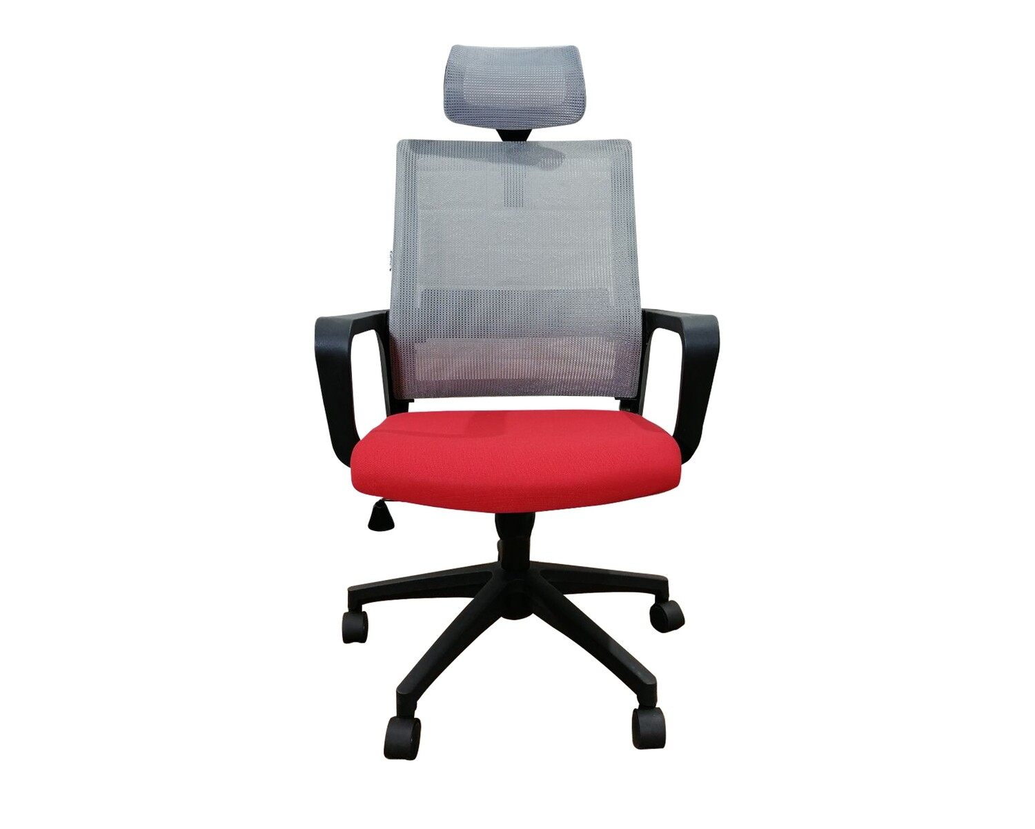 Ofix Deluxe-45N/45NW Nylon Base High Back Mesh Chair (Red+Grey, Blue+Grey, Pink+White, Purple+White)
