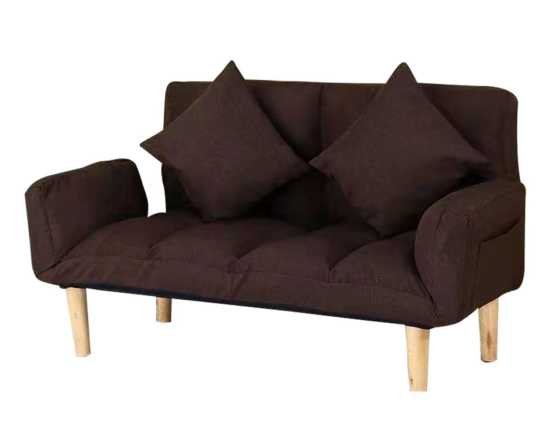Flotti Crysta Floor/Sofa Bed (Brown, Yellow, Pink, Red, Black)