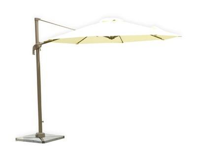 Ofix Calista Single Roof Patio Umbrella (Cream)