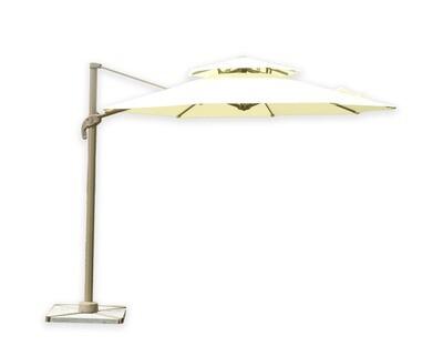 Ofix Fiona Double Roof Patio Umbrella (Cream)