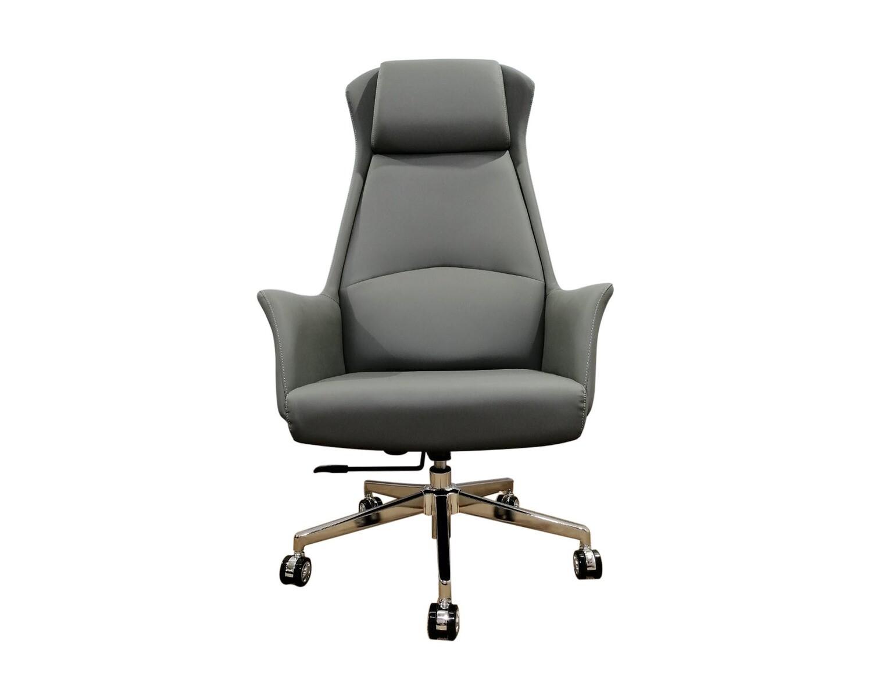 Ofix Premium-10 High Back PU Chair (Brown, Grey, Black)
