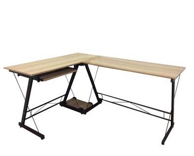 Ofix Desk 15 L-Shape Desk (Light Top, Dark Top) (120x48) (Chair Not Included)