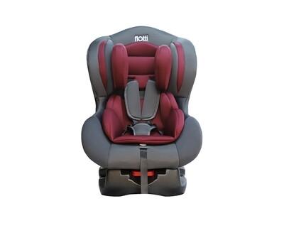 Flotti Luna Baby Car Seat (Grey, Wine Red)