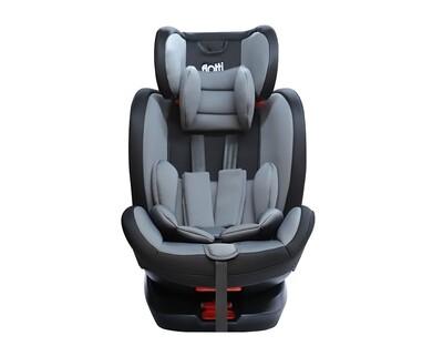 Flotti Axel Baby Car Seat (Grey, Wine Red)
