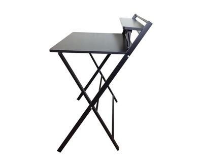 Ofix Desk 9 Foldable (83x50) (Teakwood, Black)