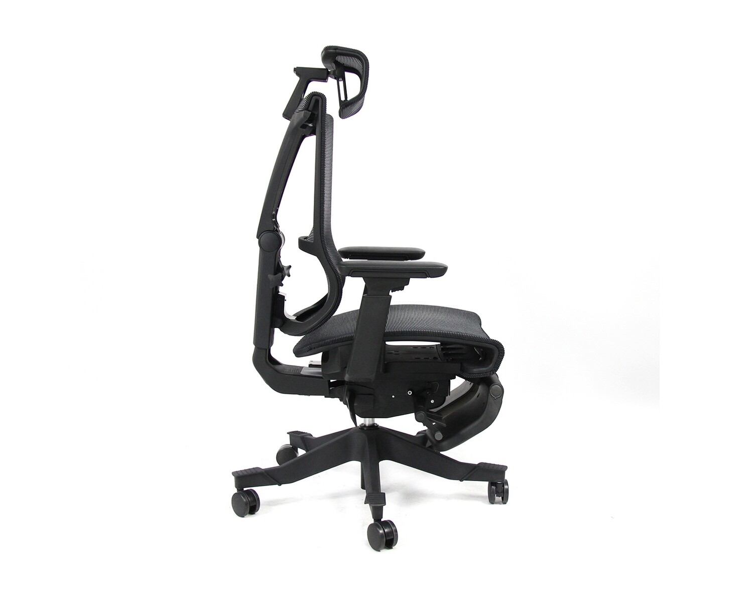 OFX Alpha X Multi Functional Gaming Chair With Footrest (Black)
