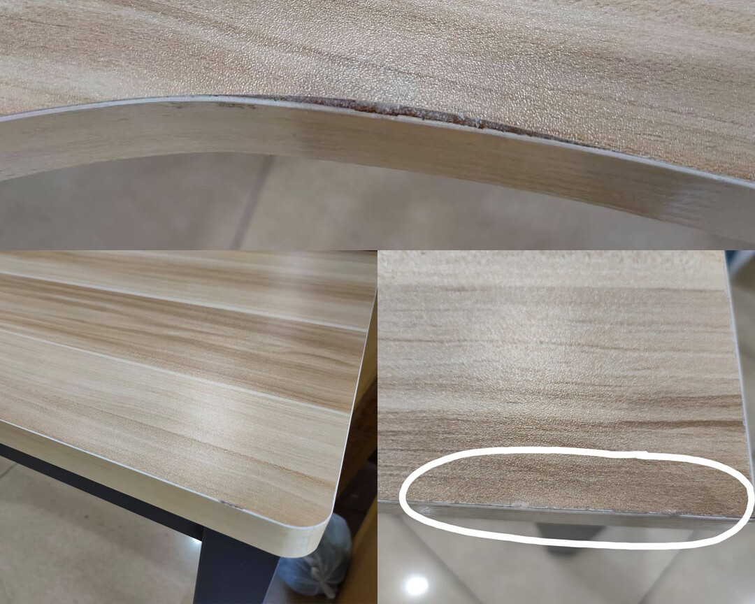 (Sale) Ofix 701 Desk L-Shape Computer Desk (Scratches/Dents/Crack)
