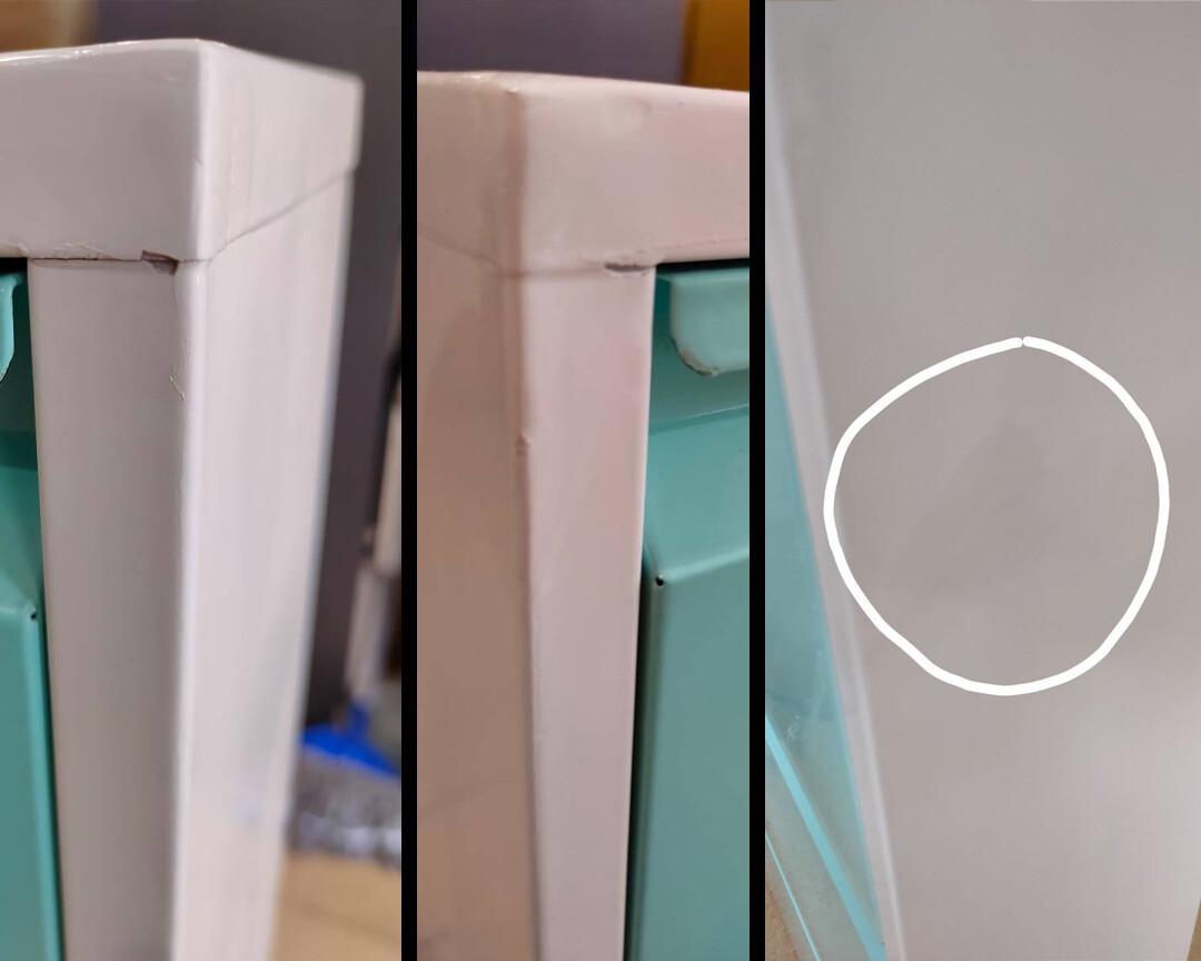 (Sale) Ofix 107x50 Shoe Cabinet (Repaint/Light Dent/Scratches)
