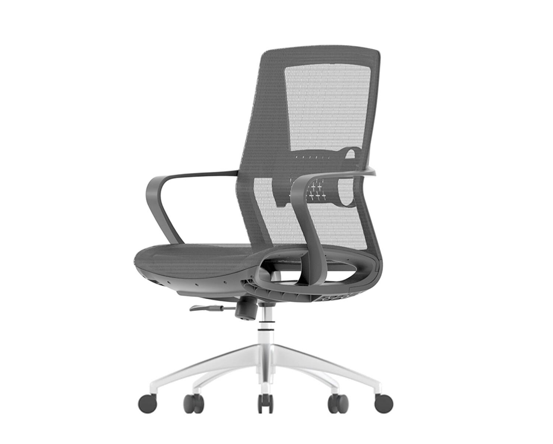 Ofix Korean-107J XTM All Mesh Office Chair (Black)