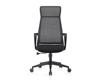 Ofix Korean 116 High Back Mesh Chair (Black, Red)