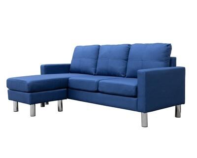 Flotti Zemira Sofa (Dark Blue, Light Blue, Light Grey, Dark Grey)