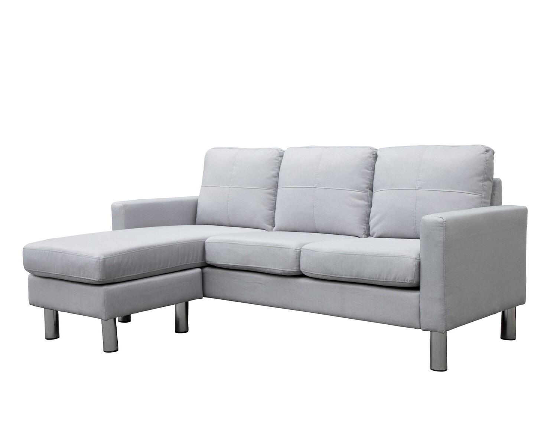 Flotti Zemira Sofa (Navy Blue, Light Blue, Light Grey, Dark Grey, Light Brown)