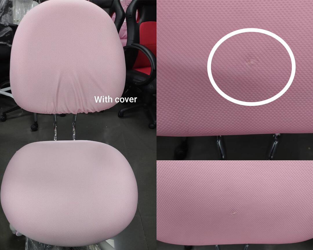(Sale) Ofix Kiddie Chair KD002(Pink) (Backrest Torn)
