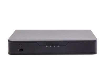 Qube 16-Channel H.265 Hybrid Network Video Recorder/ 8MP