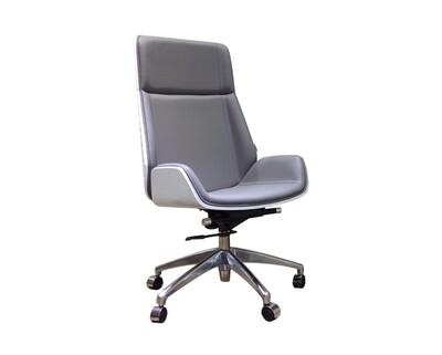 Ofix Premium H10 Bentwood Walnut Office Chair (Black, Grey)