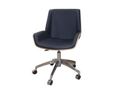 Ofix Premium H5 Bentwood Walnut Office Chair (Black, White, Grey)