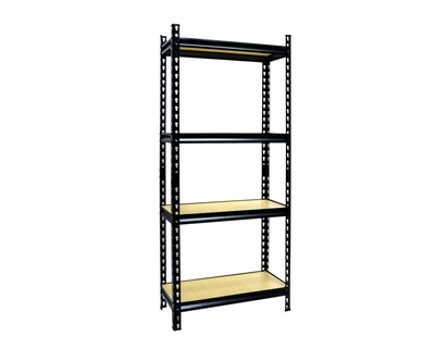 Ofix 5-Layer Boltless Adjustable Shelves (Black, White, Antique)