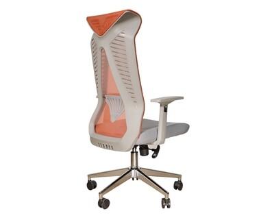 Ofix Deluxe-Z88 High Back Mesh Chair (Grey, Green, Orange, White)