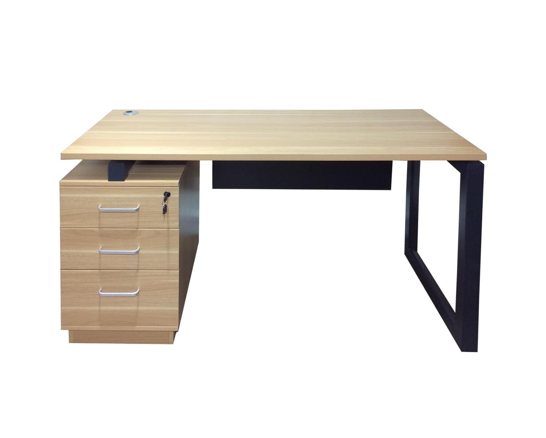 Ofix 211-OF (140x60) Desk (Teakwood, Wooden)