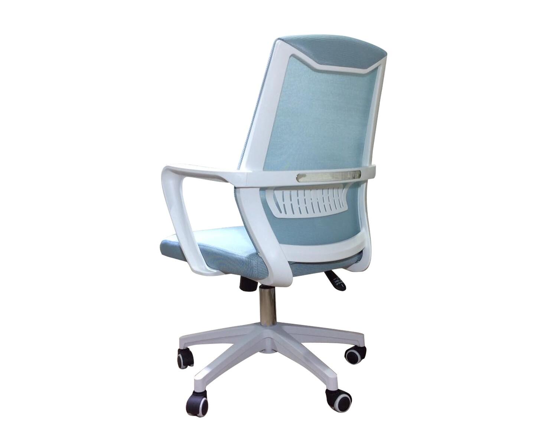 Ofix Korean-F12/ F12S/ F12C/ F12H Mid/High Back Mesh Chair (White+Blue, Dark Grey, Grey, Turquoise)