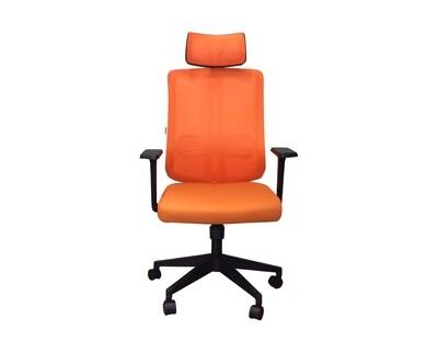 Ofix Korean-102J High Back Mesh Chair (Black, Red, Green, Orange, Maroon)