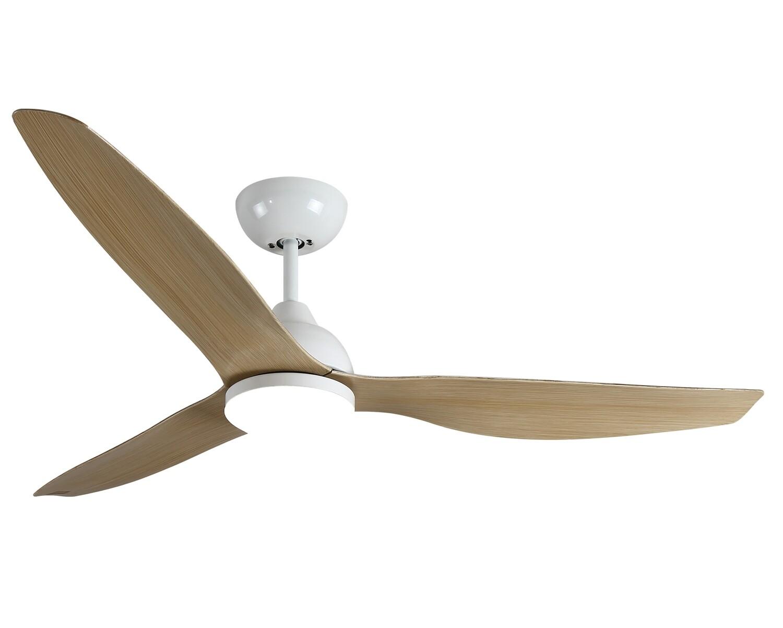 """MYKE CF8071 Ceiling Fan (52"""") (White/ Rubber Bronze)"""